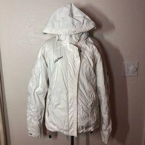 Helly Hansen White Ski Jacket